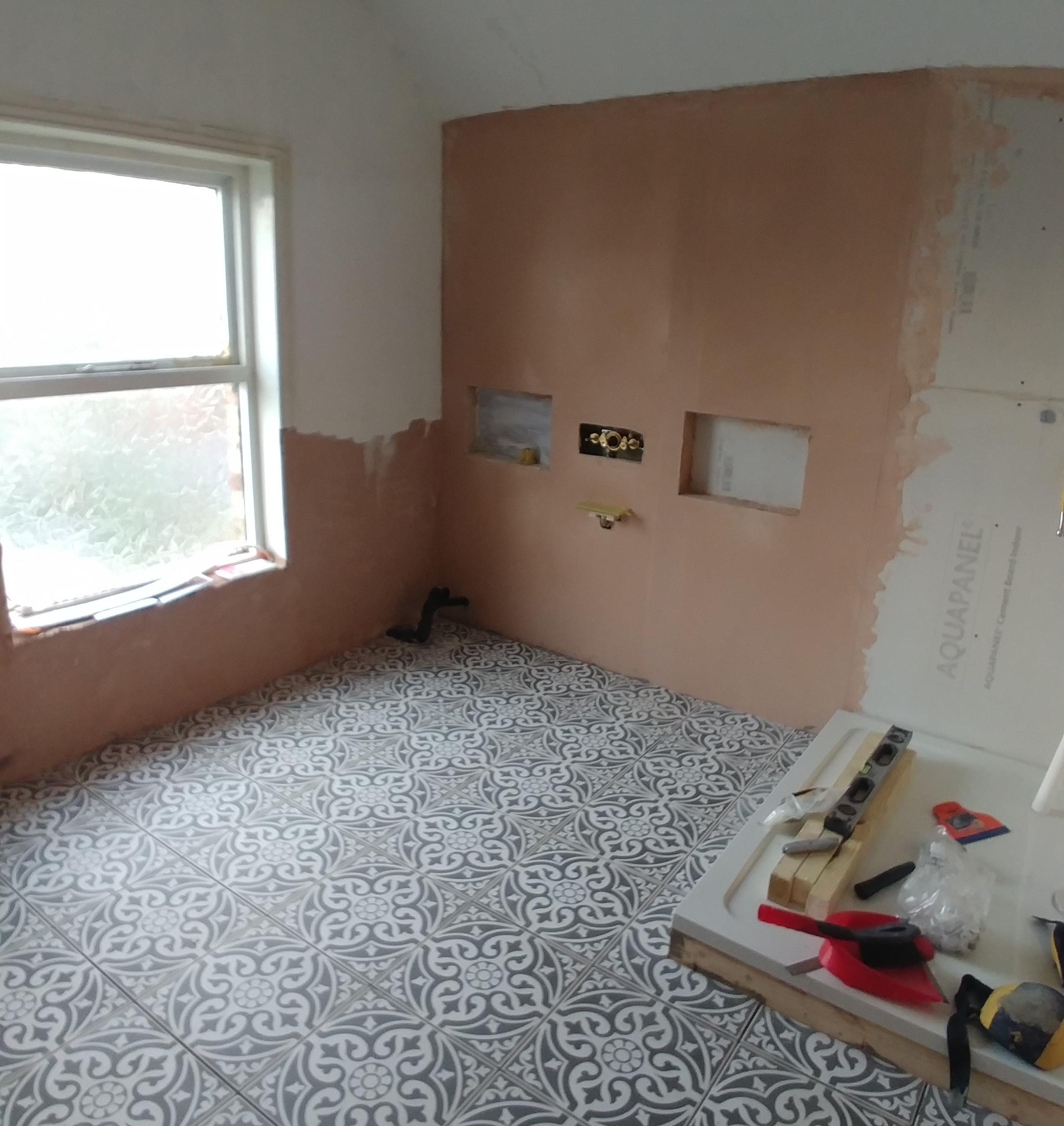 Floor tiles!