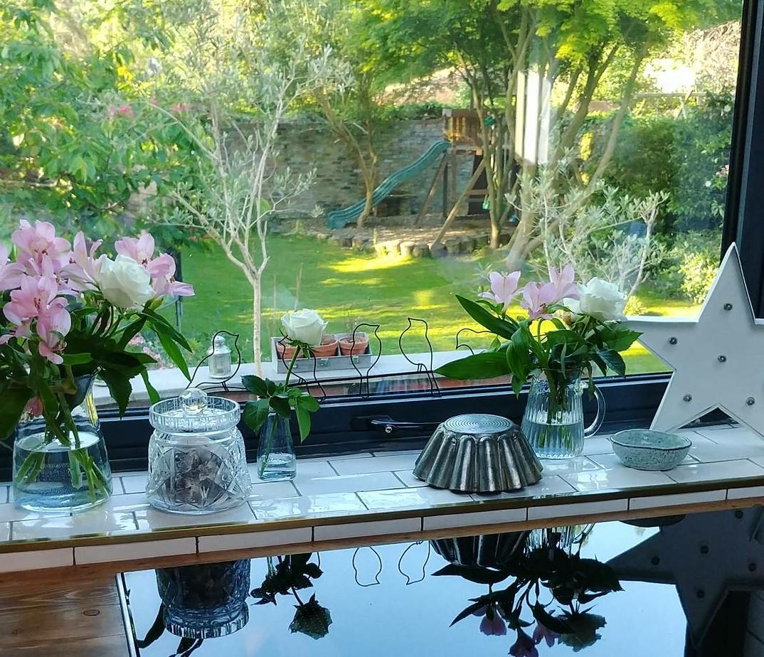 Tôi yêu sự giật gân 'khu vườn' của chúng tôi rất nhiều.