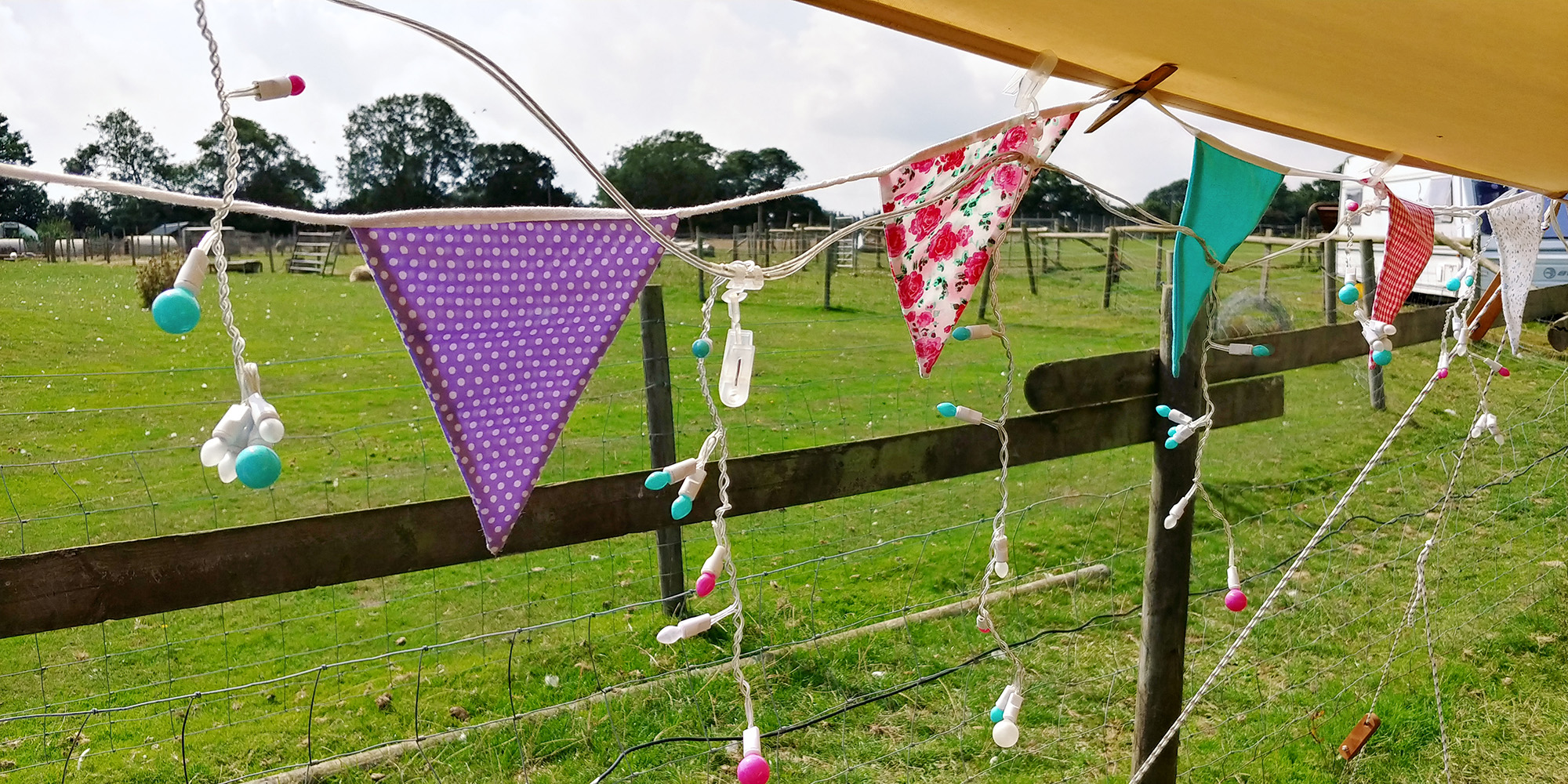 I own about thirty metres of bunting :-)
