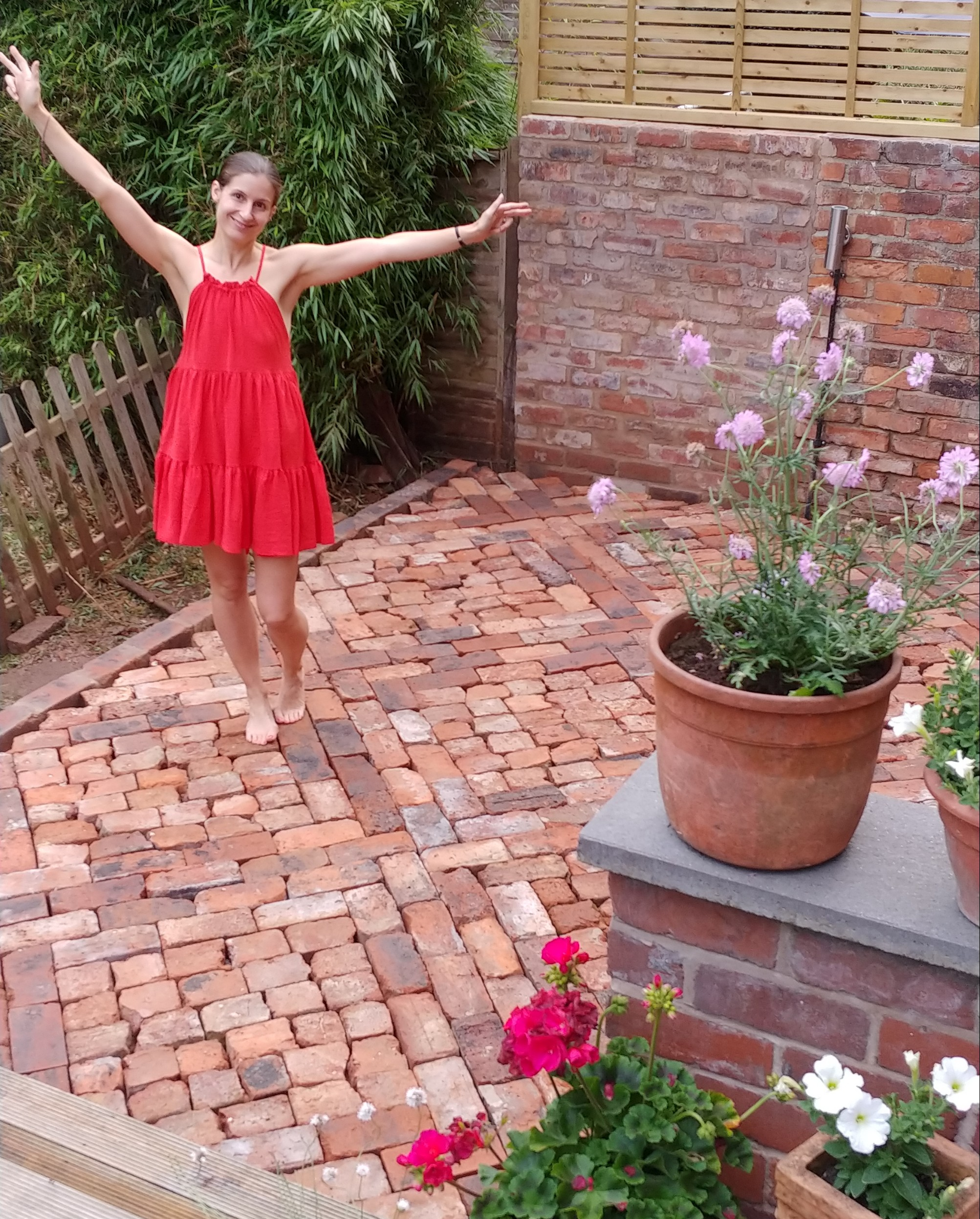 Lay A Patio From Reclaimed Bricks