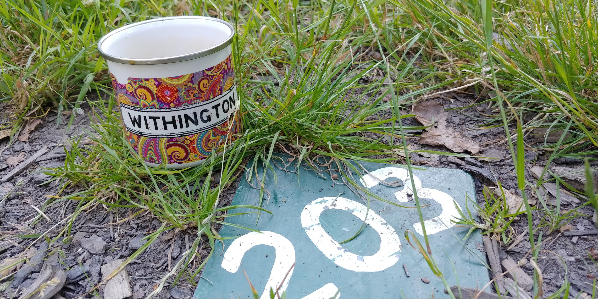 The pitch numbers are set into the grass, which put us to the test at first as we tried to work out which one was ours.