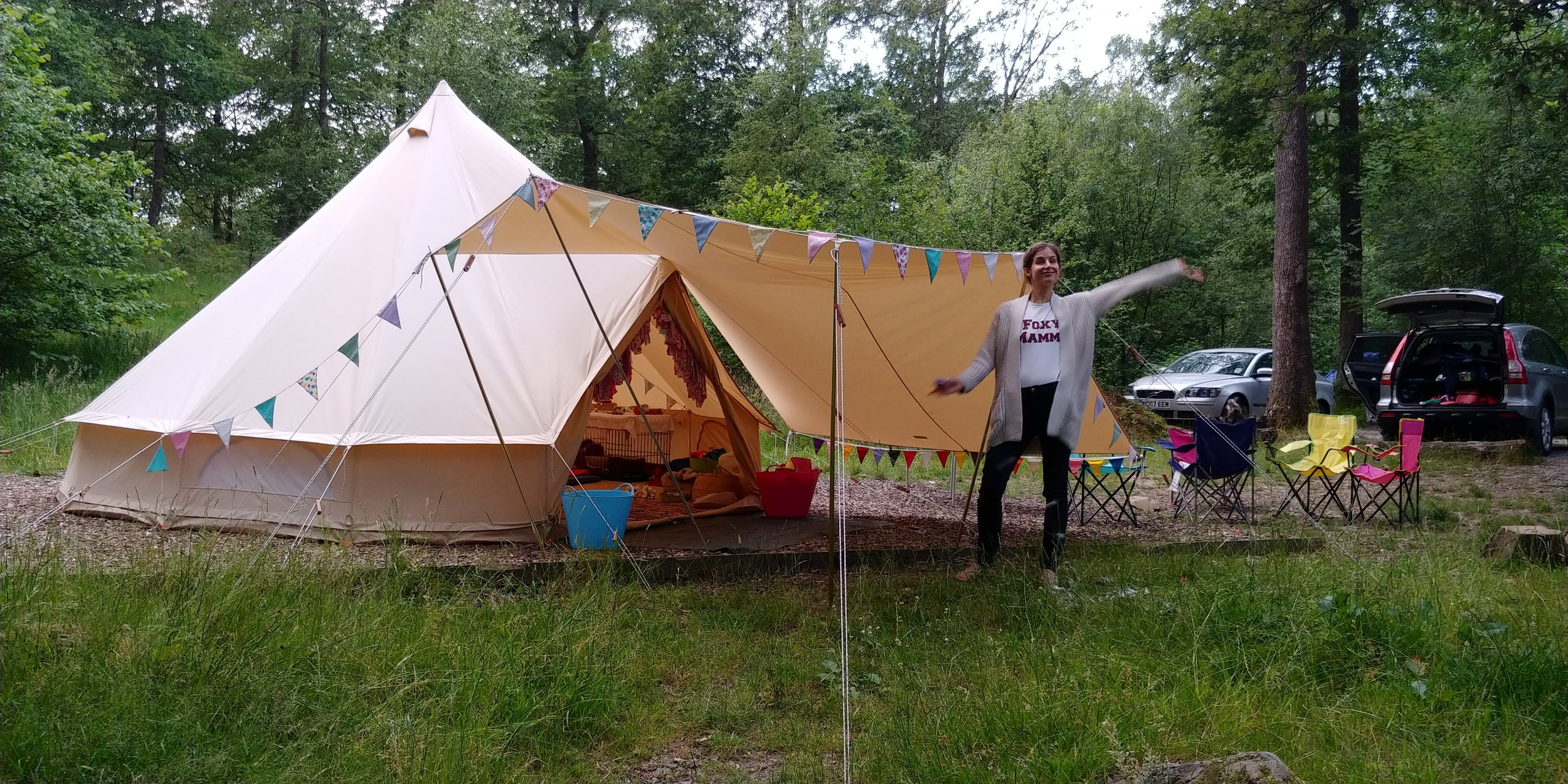 Pleased with my pitching abilities. Look at those perfectly smooth sides :-)