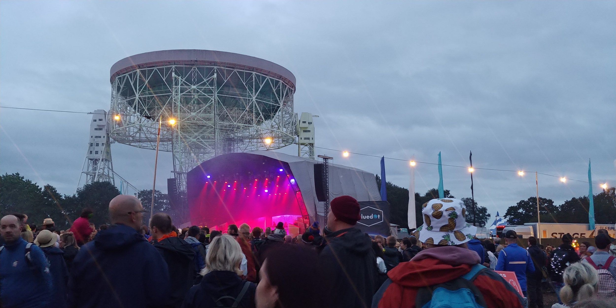 Hot Chip on the Lovell stage.