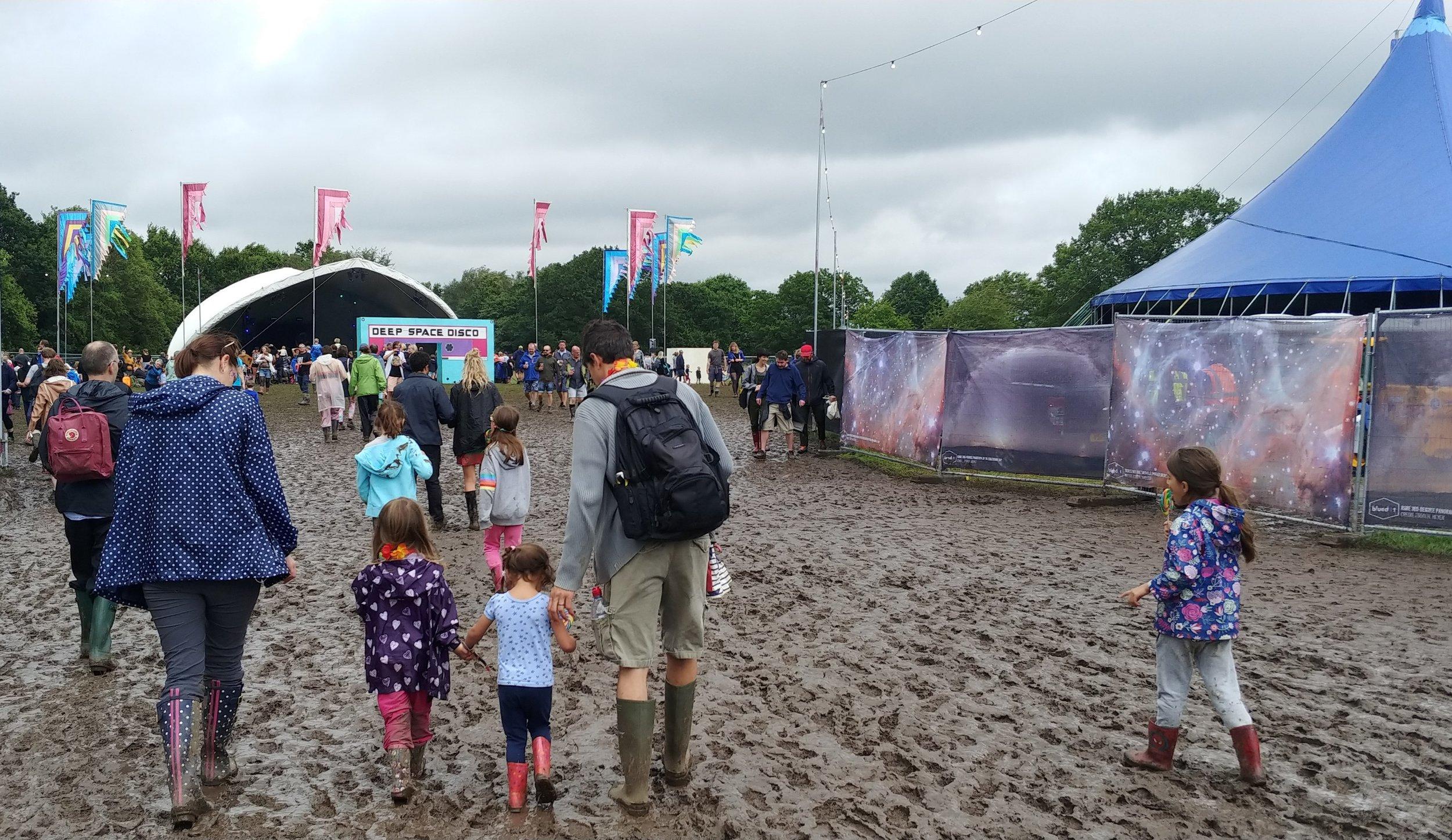 Glorious mud.