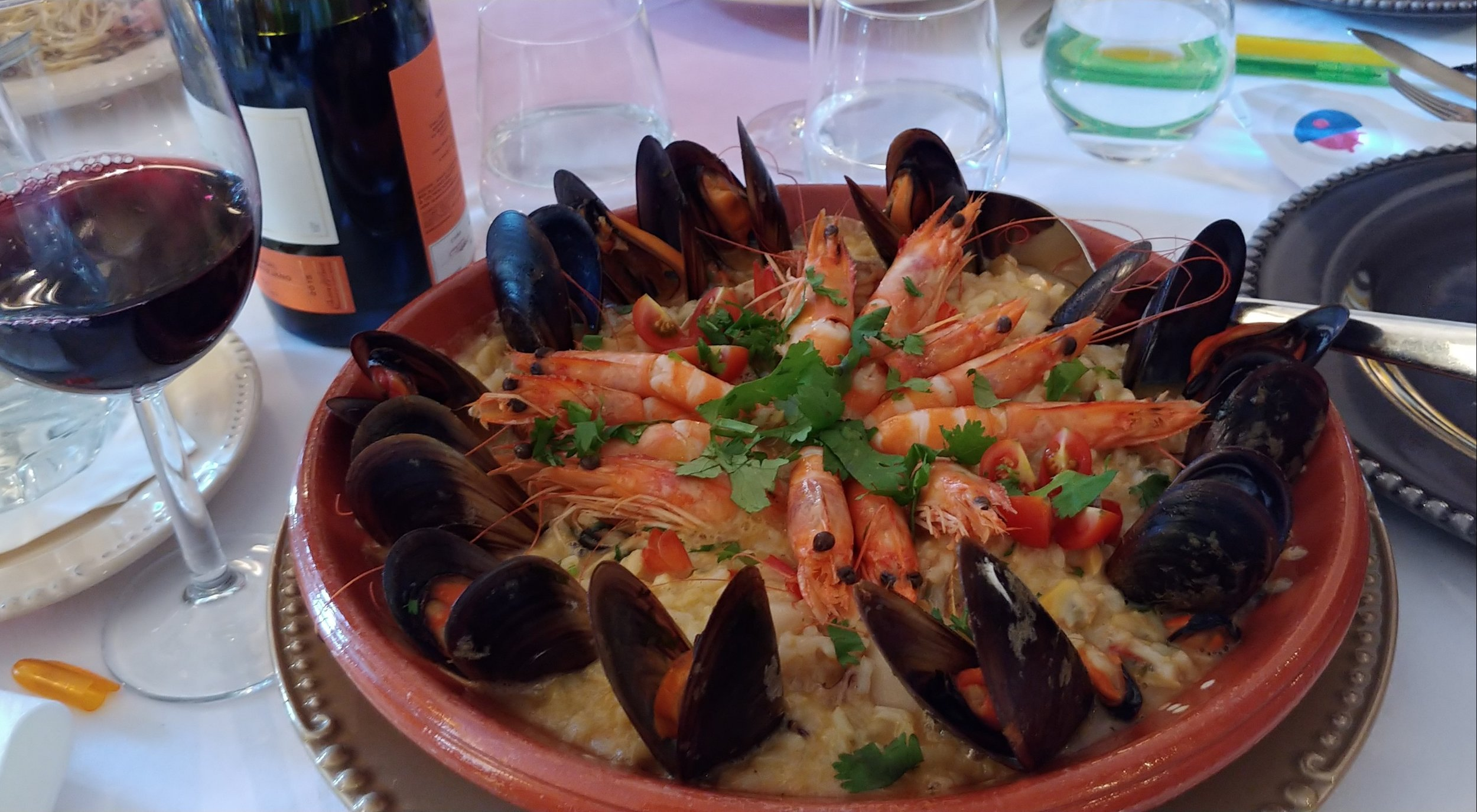 While you're debating the pronunciation of Cascais, I recommend you visit 5 Sentidos restaurant and have the seafood risotto. It's majestic.