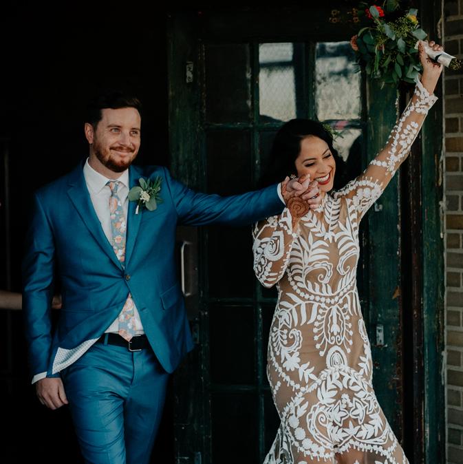 Jasmine + Kyle - September | Workshop Wedding