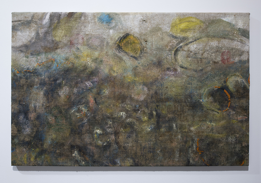 Ajemian, Laundered Painting (28x52) I, 2017, painting on burlap, 28 x 52 in., 71.12 x 132.08 cm, CNON 59.081 (email).jpg