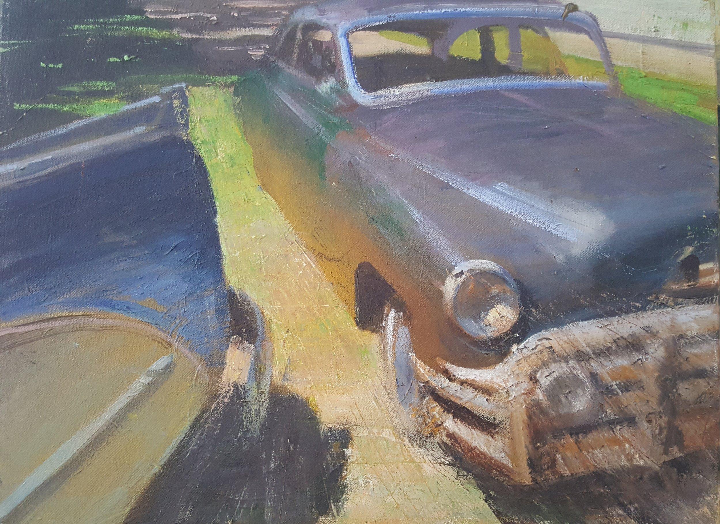Rick's Driveway, Old Cars