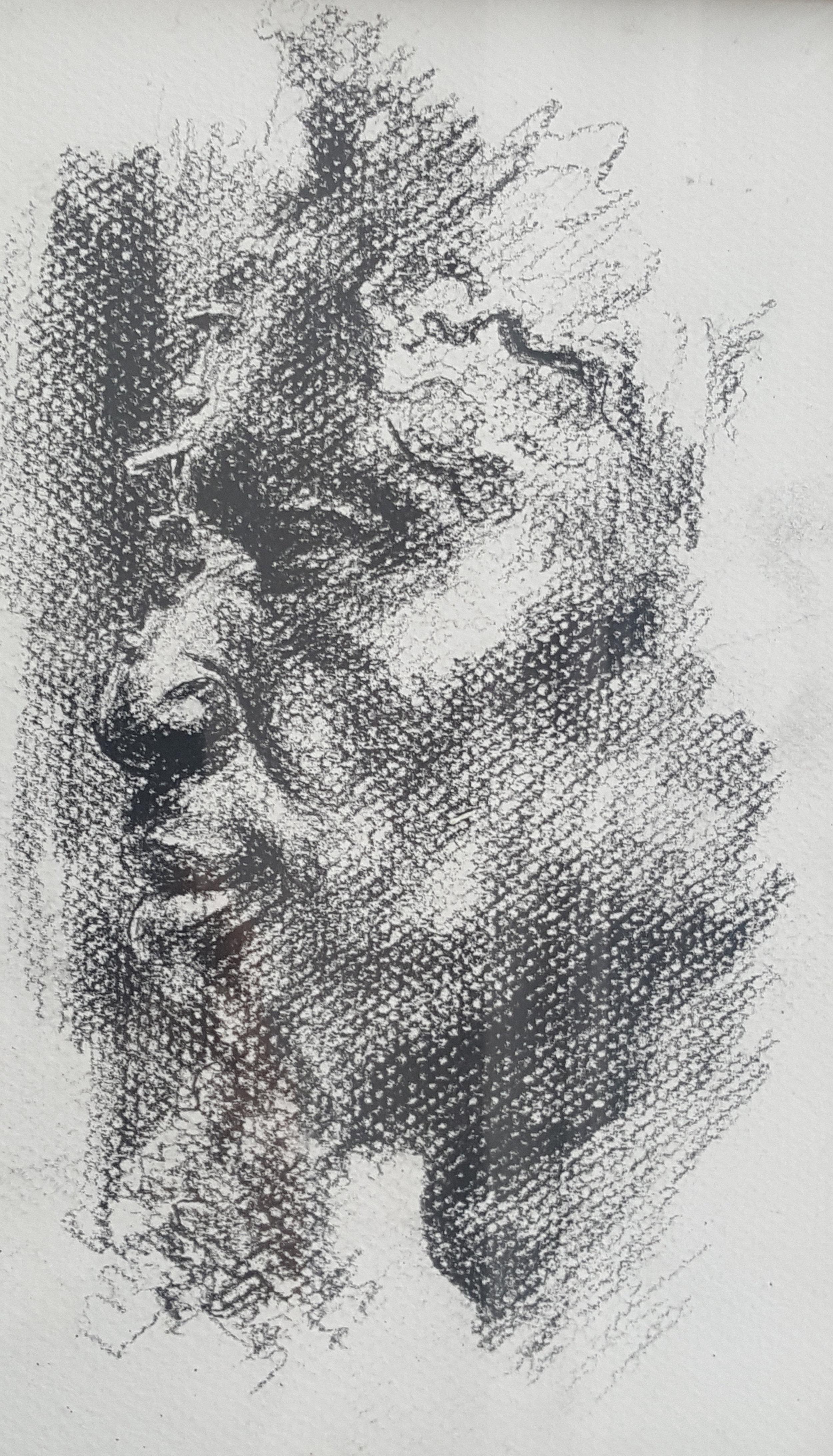 Portrait of African