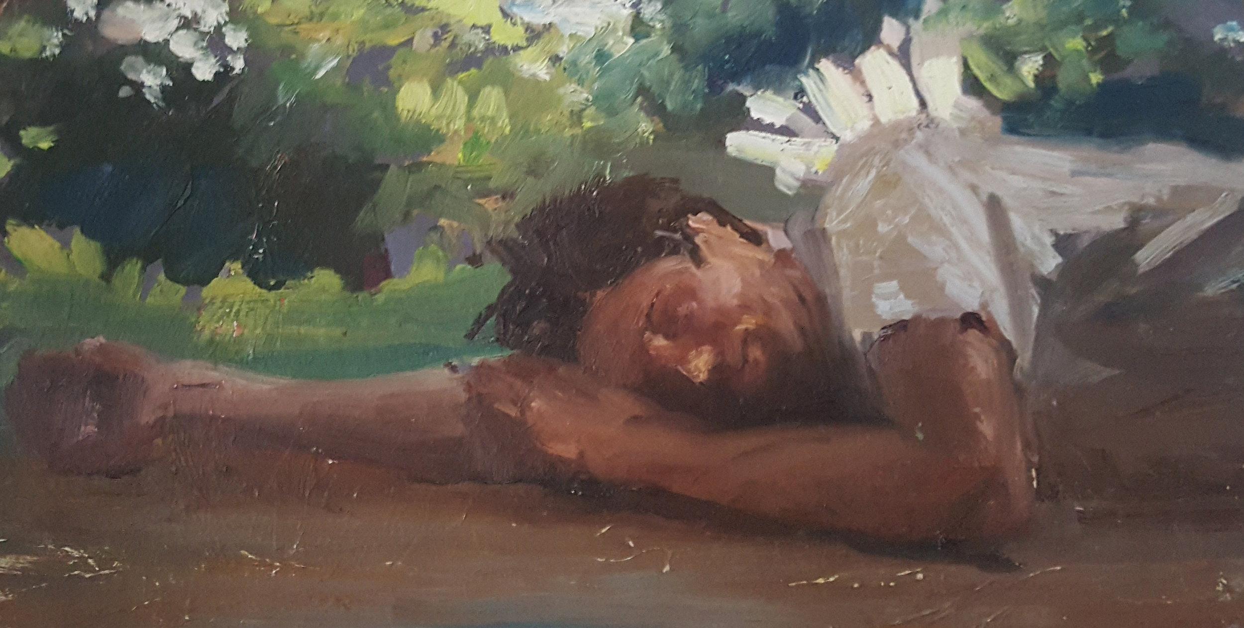 Self Portrait Resting