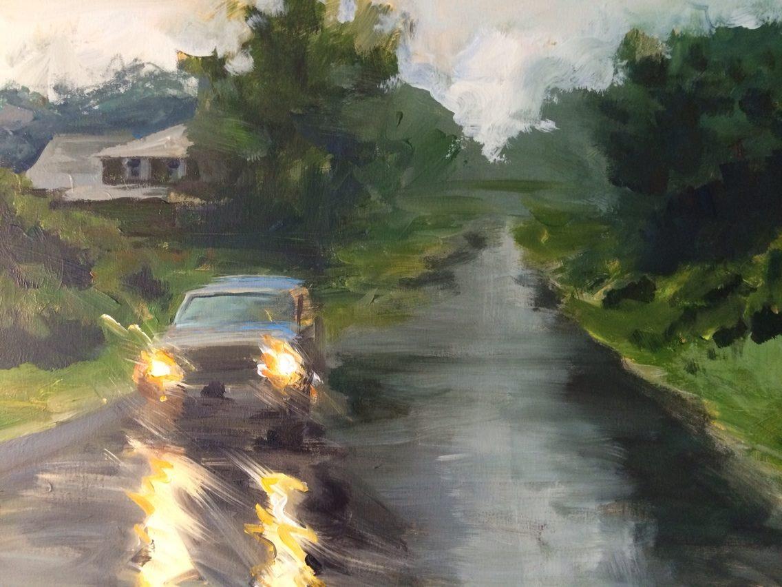Landscape - Wave StudyAcrylic on Panel 14