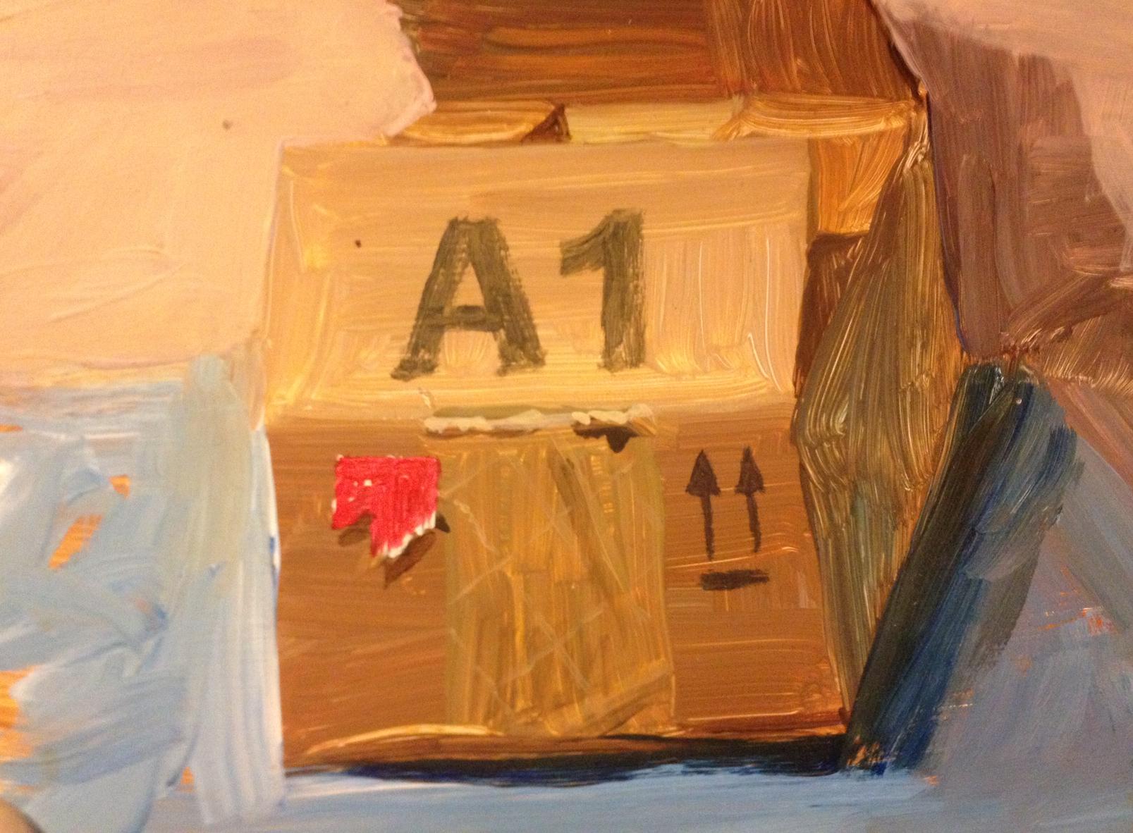 Still Life - PoppyOil on panel12