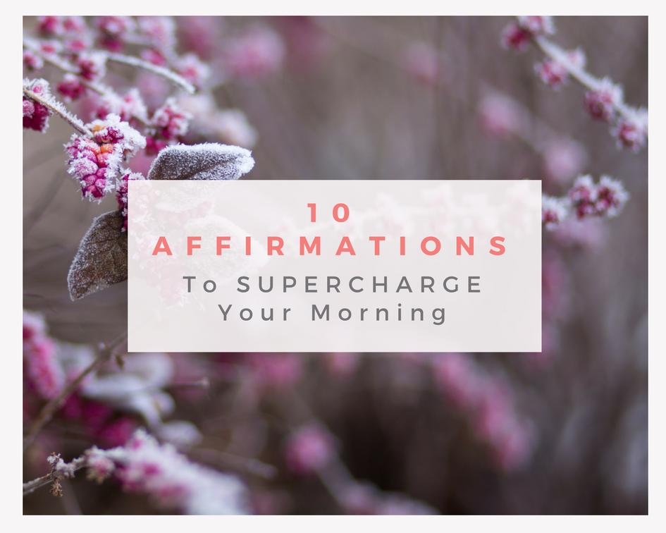 10 Health Affirmations