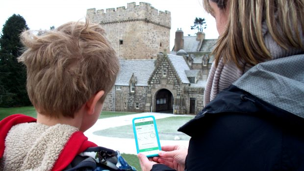 """T  he Press and Journal //Explore Royal Deeside GeoTour    """"Fancy experiencing a high-tech version of a treasure hunt?"""""""
