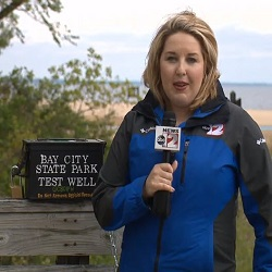 """ABC 12 WJRT // Michigan State Parks Centennial GeoTour launches    """"You're really, probably going to see a lot of stuff that you never would have seen before."""""""