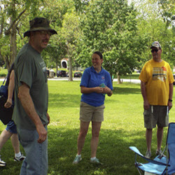 """Connersville News Examiner // Treasure hunt    """"The Fayette County GeoTour guides geocachers around so that they can learn about the county."""""""