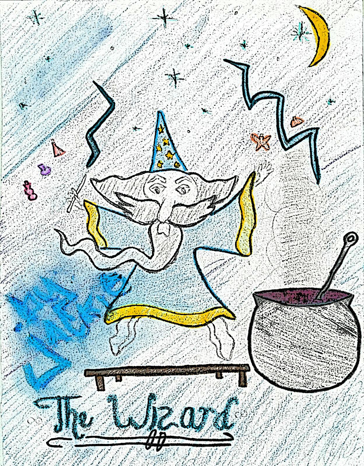 Kids LOVE the Wizard!