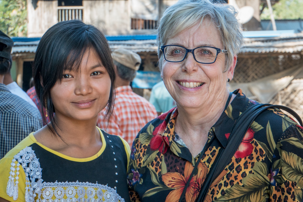Trudy Prescott visits a tiny, out-of-the-way village to celebrate the drilling of  their first clean water well
