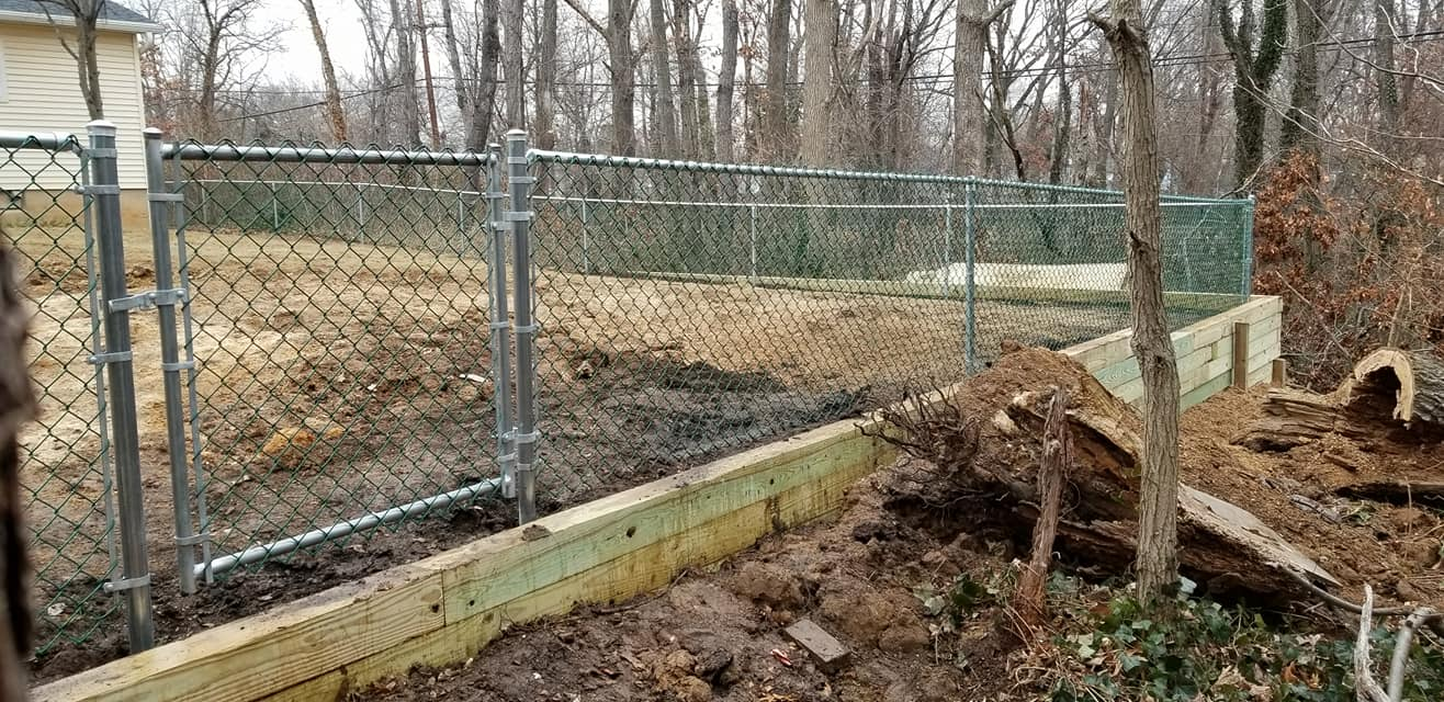 Short Chain Link Fence