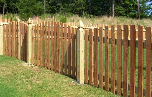 Short Wood Fence