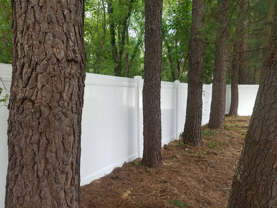 Tall Vinyl Privacy Fence
