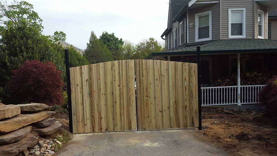 Metal & Wood Custom Gate