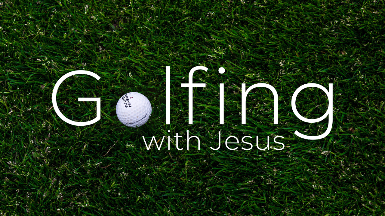 "Many people are firm believers that God is in control of everything… until they go golfing. While God may in fact know everything there is to know about golf, and even want us to learn to master the sport, he does not ultimately control our swing or the resulting trajectory of the ball. He will always, however, without judgement or condemnation, say to you ""Let's go find the ball."""