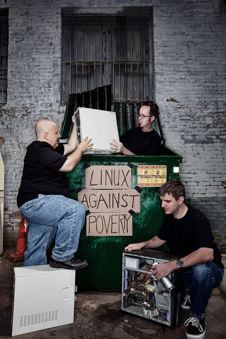 linux against poverty