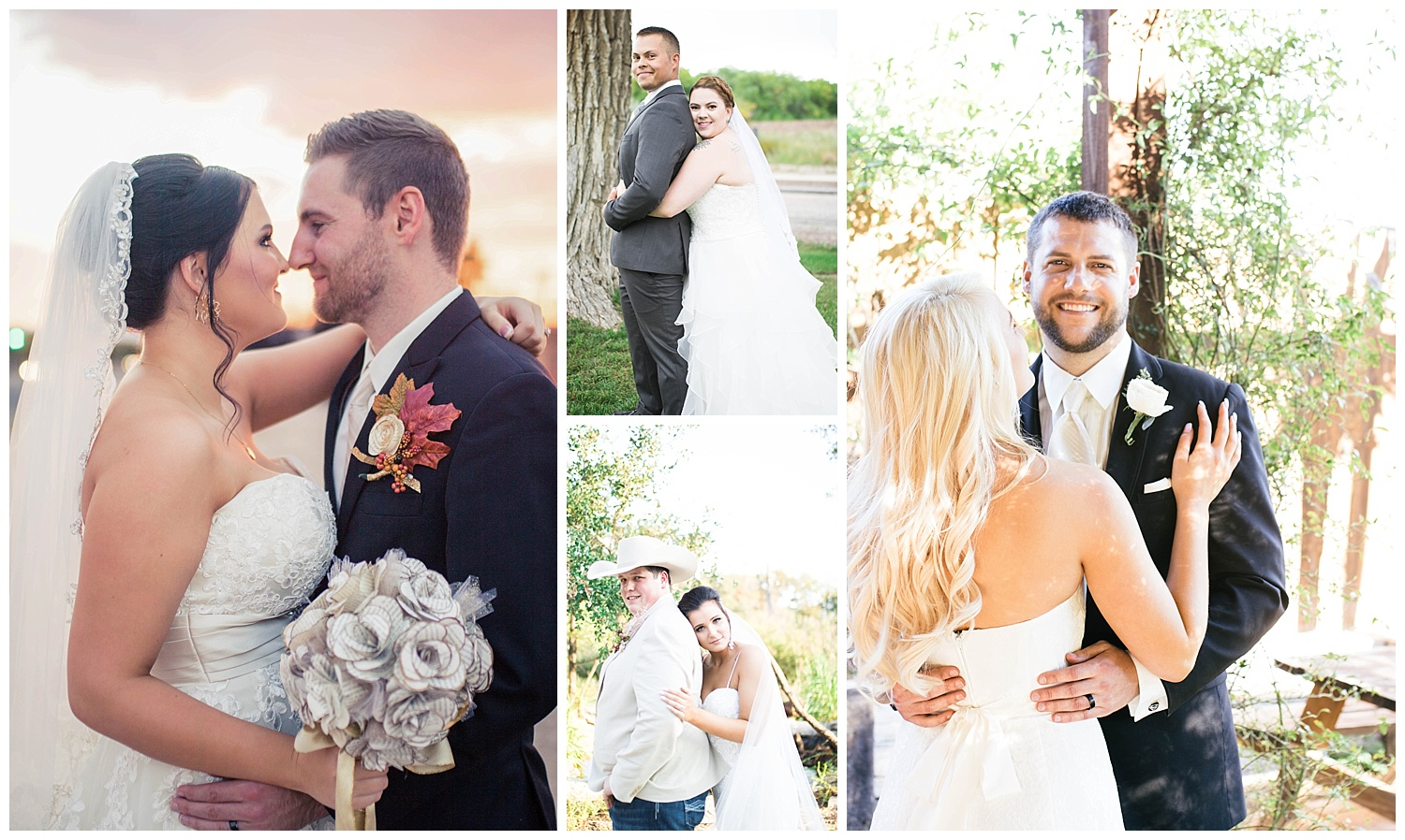 Bride holding her groom. Some of the most stunning bridal portraits. They are genuine, and full of love