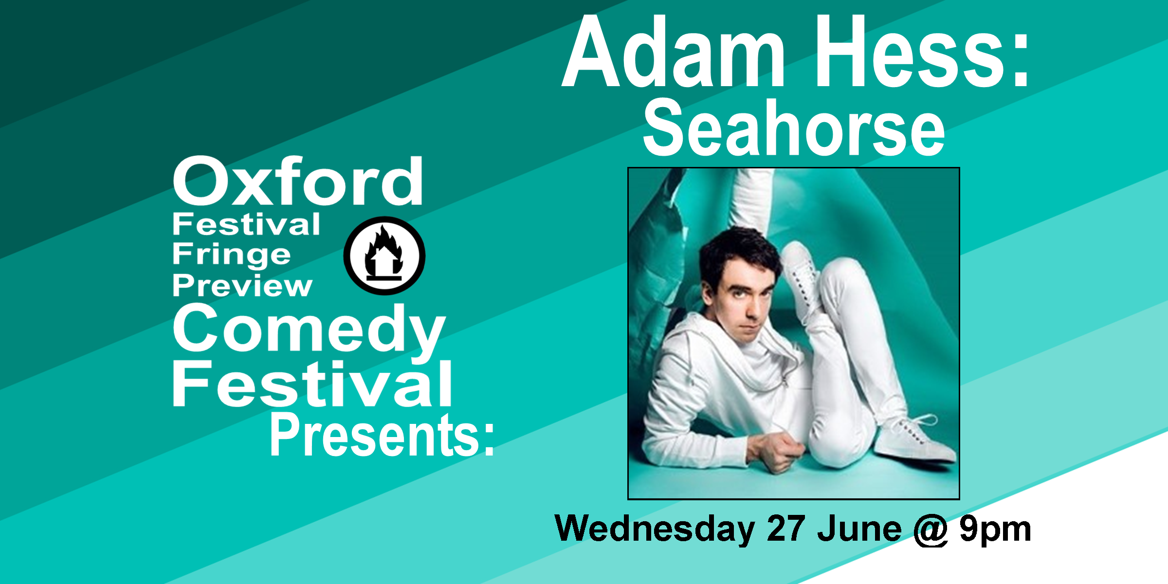Edinburgh Comedy Award Best Newcomer nominee, as seen on Tonight at the Palladium and Live at the BBC. Adam can't imagine the Queen with wet hair and he can't get his head around the fact his cat has a grandad. A show about how he almost ruined his life this year, leaving him with nothing, and how he's trying to get it back on track. 'I've seen few shows that are funnier' **** (Times). 'For high quality gags per minute there is no better comedian on the Fringe' **** (Independent).  Doors at 8:50/Show at 9pm  60 minutes   Get Your Tickets   Here