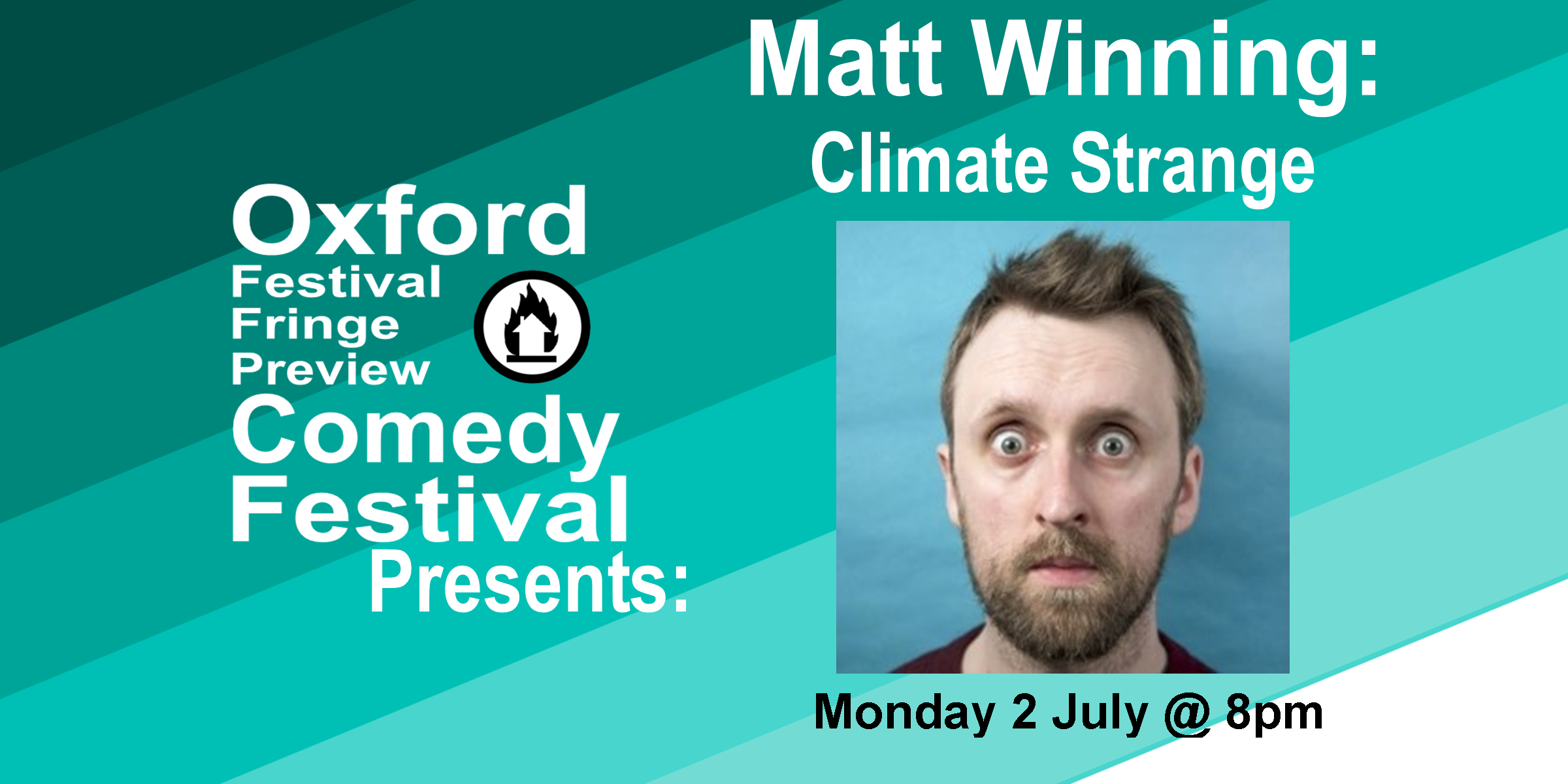 Dr Matt Winning is thinking about starting a family but wonders if he should. A show about why our knowledge about climate change doesn't necessarily match our actions. As seen as the Environmental Correspondent on Unspun with Matt Forde on Dave. 'Winning's sharp wit and intelligence allows him to educate as he entertains' ****½ (Sunday Post). 'A very powerful and eccentric piece of comedy from Winning, who is sure to become one of the largest names in UK comedy very soon' **** (ShortCom.co.uk).  Doors at 7:30/Show at 8pm  60 minutes    Get Your Tickets Here