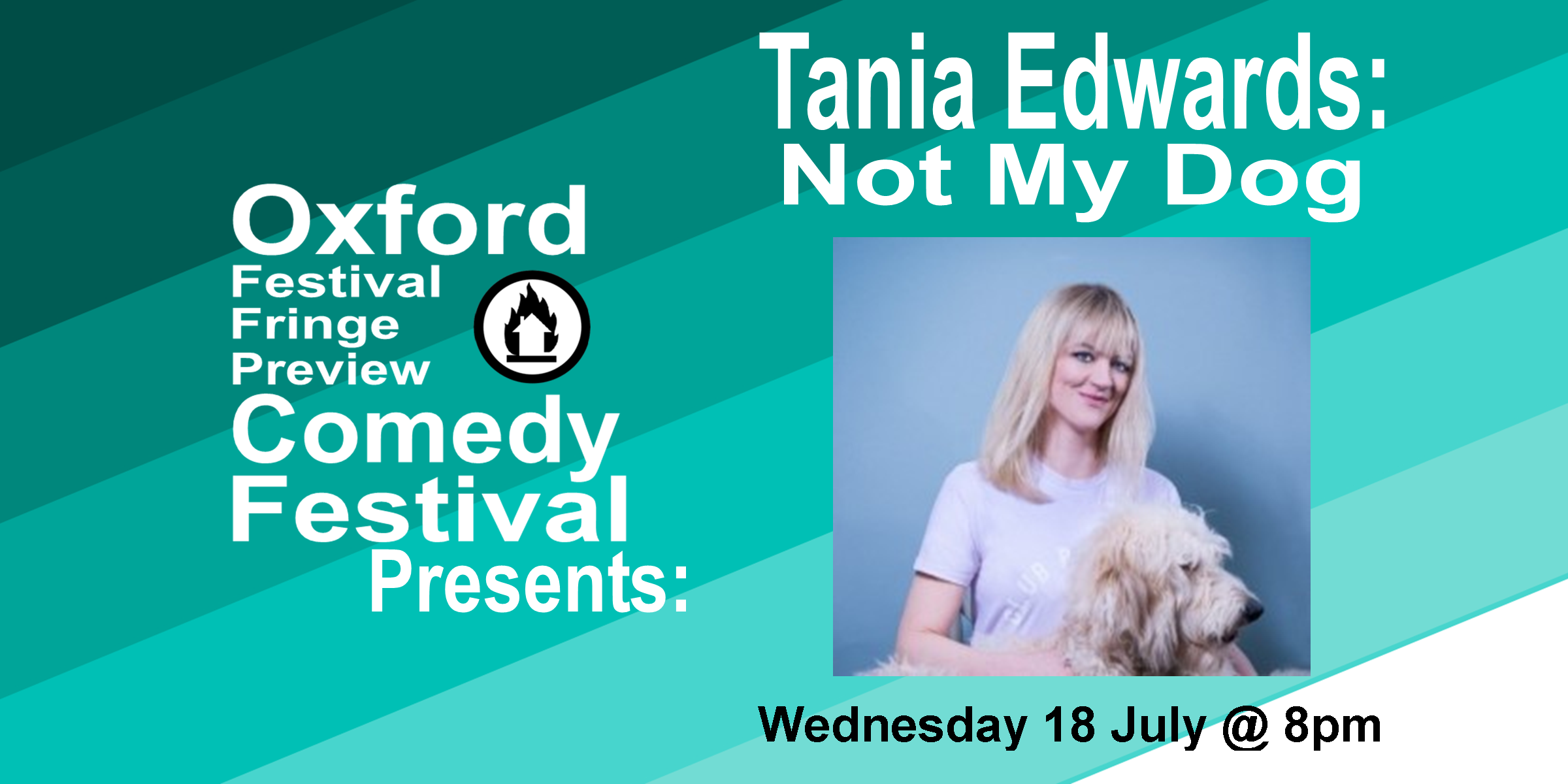 Not My Dog is a hilariously dark exploration of modern life and our need to (mis)represent it from stand-up Tania Edwards who has written for Mock the Week (BBC Two), Stand Up for the Week and Twit of the Year (Channel 4). Tania recently supported Katherine Ryan on tour. Her scintillating one-liners were crowned top jokes of the Fringe (Mirror), James Acaster's Best Edinburgh Fringe Picks (Guardian), and Glamour Magazine's Top Female Comics. 'Cuts daggers with sharp one-liners' (Glamour Magazine). 'Fantastically seamy side to the material... also great with audience banter... sublime... brilliant' ( Chortle.co.uk ).  Doors at 7:30/Show at 8pm  60 minutes    Get Your Tickets Here!
