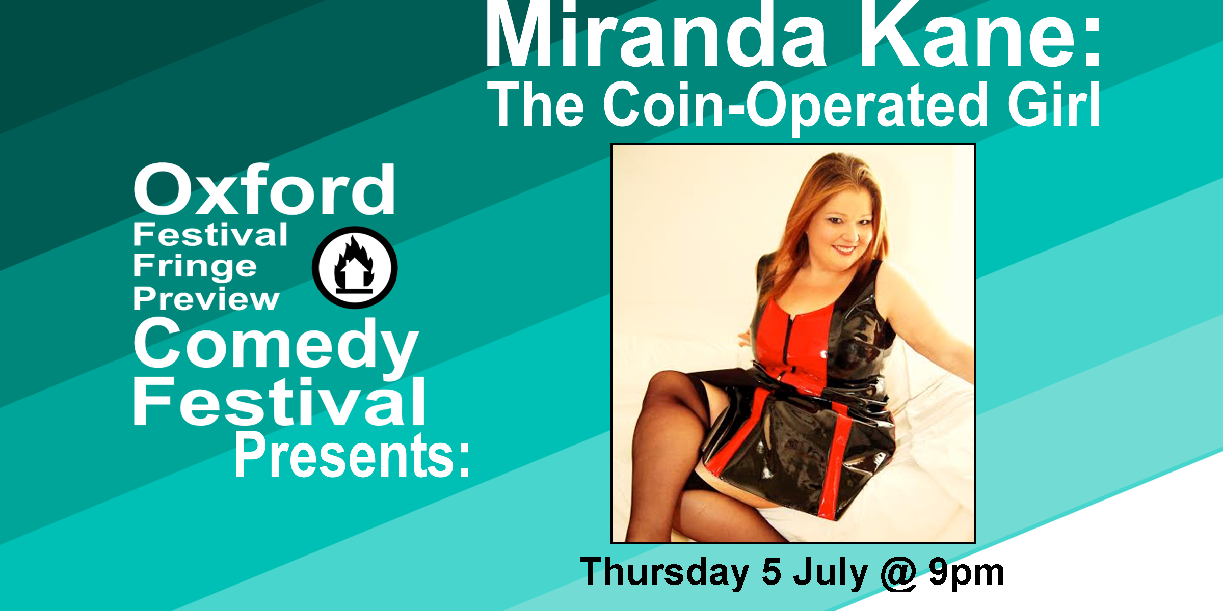 **Please Note: The original show for tonight, Sindhu Vee: Sandhog, had to be canceled due to illness. but we are lucky enough to have an amazing performer, Miranda Kane, filling in:  Fat girls have all the fun!   Miranda Kane - who became a £2000 a night escort, and weighed over 300lbs to boot – knows more than most!  In this tell-all comedy, she exposes the truth about sex workers, their clients, and all the hilarious, heart-warming and often bizarre moments in a unique career.  This five star show has sold out at theatres and festivals across the UK, and is an eye-opening look at a fascinating industry. With hilarious anecdotes and a no-holes barred (pun intended) Q&A, Coin-Operated Girl offers a whole new angle on the world of sex-work.   Even if it's not your first time with a prostitute, it'll be the funniest!  Doors at 8:50/Show at 9pm  60 minutes   Get Your Tickets Here!