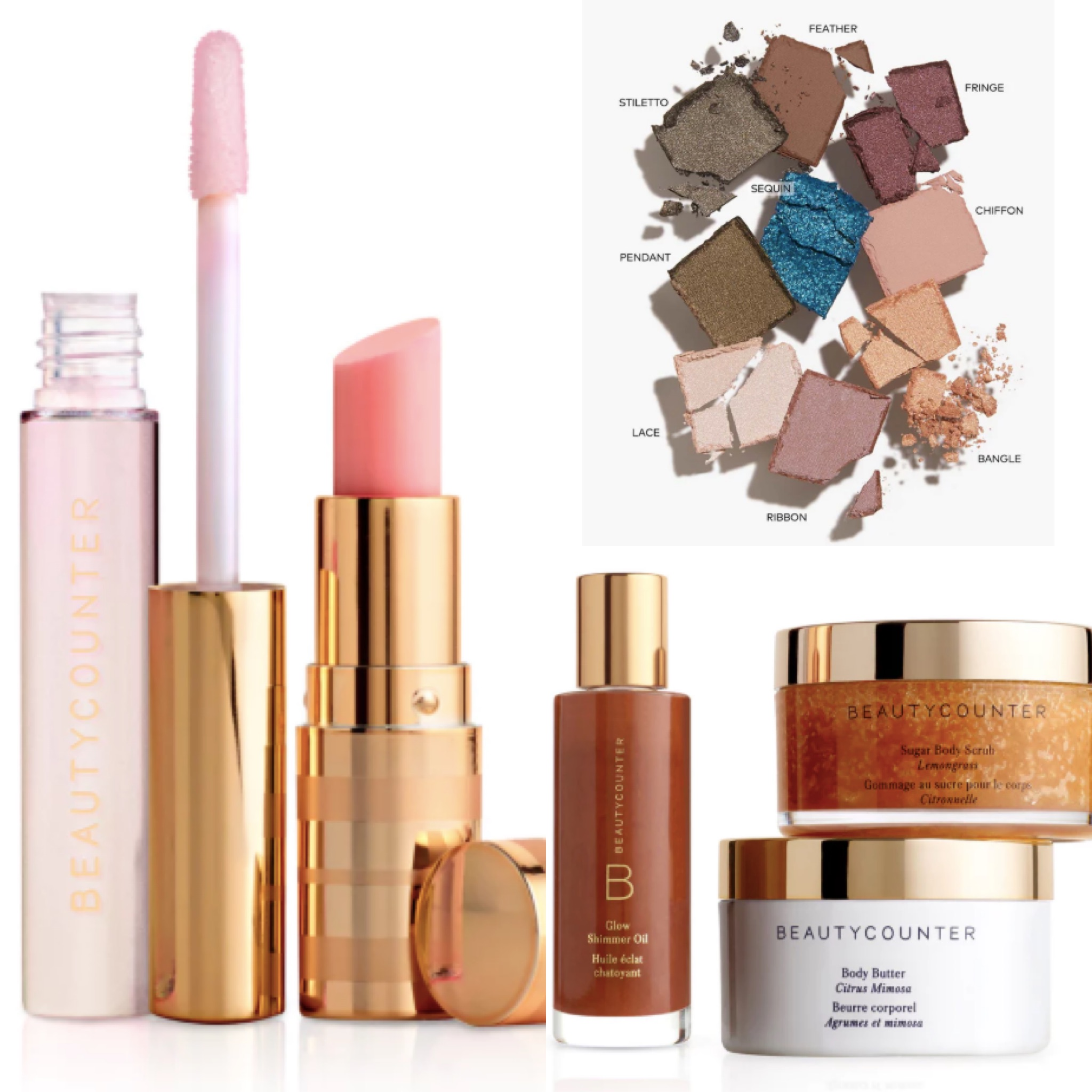 In my dream world we can trust our products and foods to nourish and protect us. For now, find brands you trust and stick with them. I love Beauty Counter's Products.  Their tinted moisturizer is light and doesn't run into your eyes when you sweat. Their lipsticks are long lasting and don't dry out and their eye shadows have the perfect consistency and stay where you put them. And completely toxin free. They have incredible bath products for kids and grown ups, too!