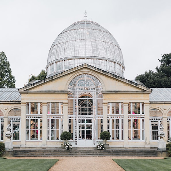 Syon Park   The Great Conservatory at Syon Park is the space for those looking for the wow factor. Surrounded by 200 acres of land, 40 acres of superb gardens and a picturesque ornamental lake this London venue was created in the 1750s and built out of gunmetal, stone and glass. Inside, the working conservatory is adorned with the most exotic of plants and trees which makes it a tranquil setting for daytime events.  Location: London Brentford, TW8 8JF   View Syon Park