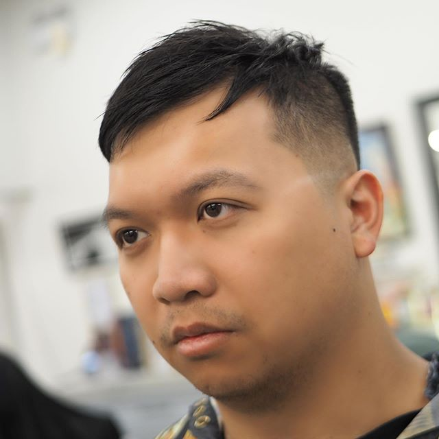 "You can spruce up your ""crop"" hairstyles just by adding accent pieces on the fringe. Heres an example of a subtle one. How do you think a more obvious one would look like? . . . #vancouver #curiocityvancouver #vancityvibe #dailyhivevan #vancouverbarbers #vancouverbarber #vancouverbc #vancouverbarbershop #barbers #vancitybuzz #vancouversalon  #vancity #yvr #vancityhype #hairstylist #hairdo #hairoftheday #instahair #vancitylife #604now #hypebeast #freshfades #bestbarbers #barbershop #vancitynow #igersvancouver #vancouverartist #vancouvercommunity"