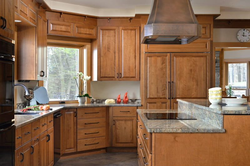 """""""We have had our cabinets for 9 years now and not one regret. The high quality of the cabinets are wonderful. We had one initial problem and a representative was sent out immediately and fixed the issue on site. Love these cabinets."""" -  From Deborah in October of 2017."""