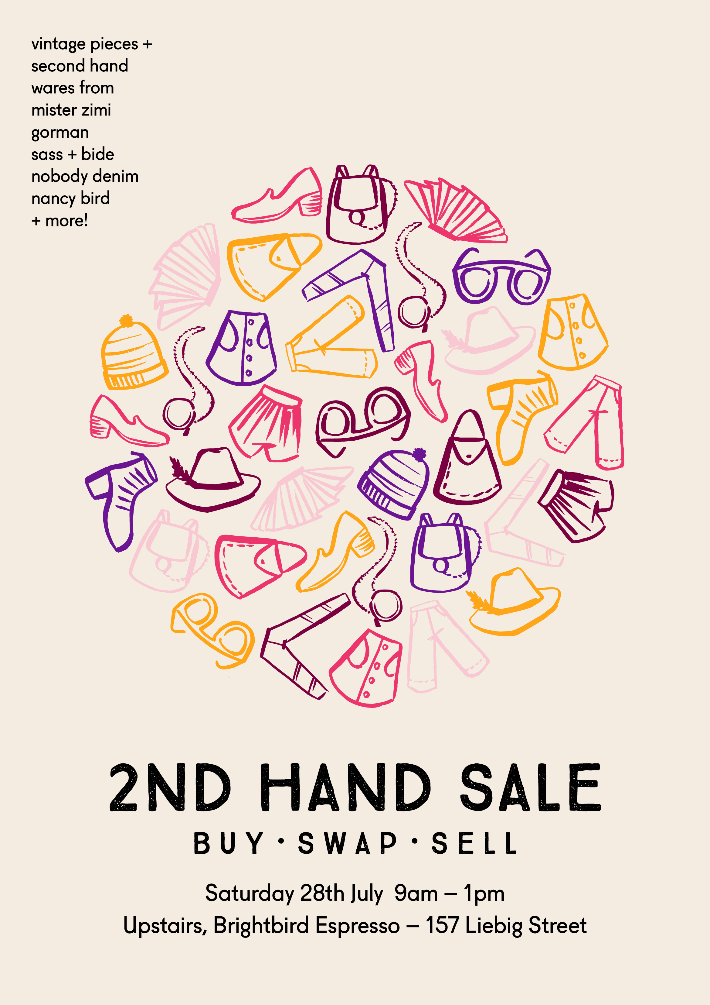 Second Hand Buy Sell Swap Sale — Brightbird Espresso