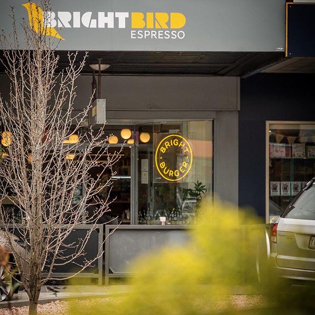 Lunch :: Today 💛 @brightburger at @brightbirdespresso