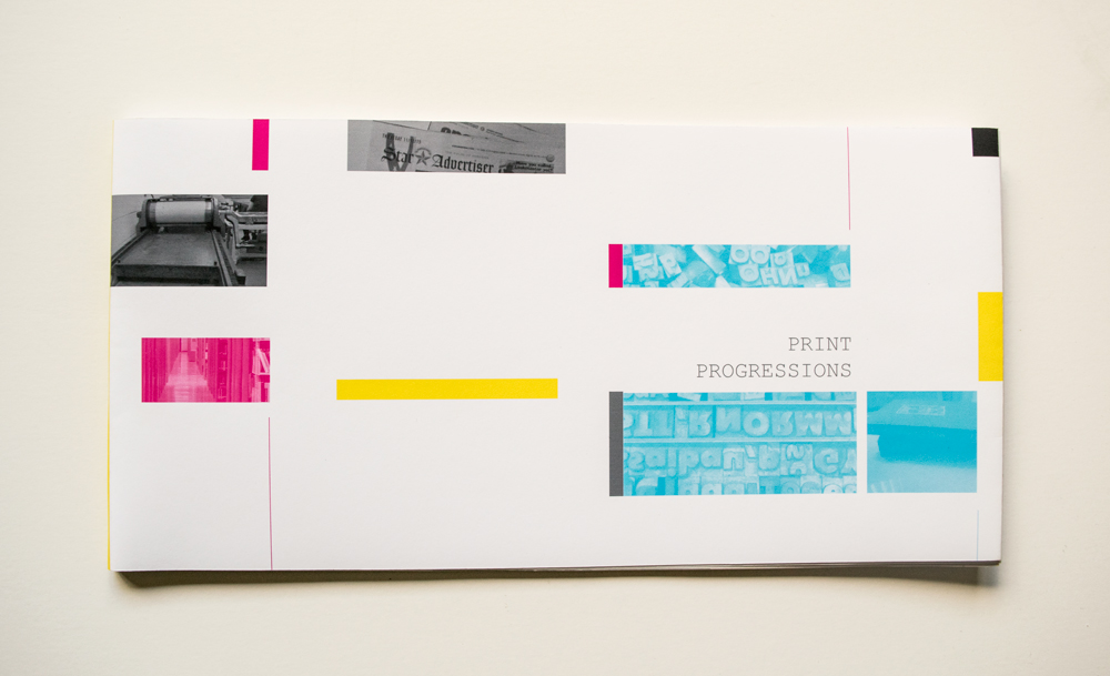 Print Progressions (Front Cover)