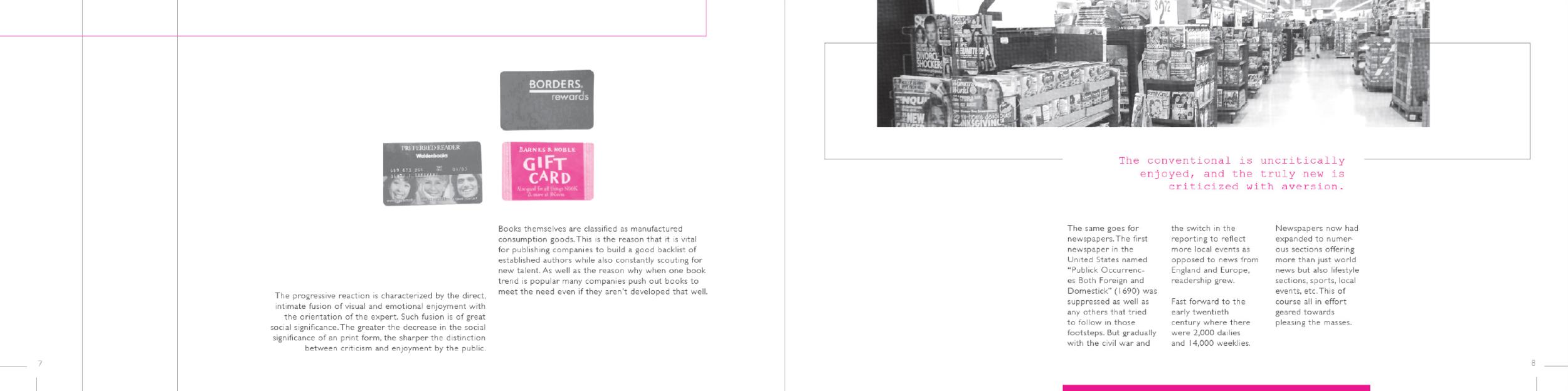 Print Progressions (layout)