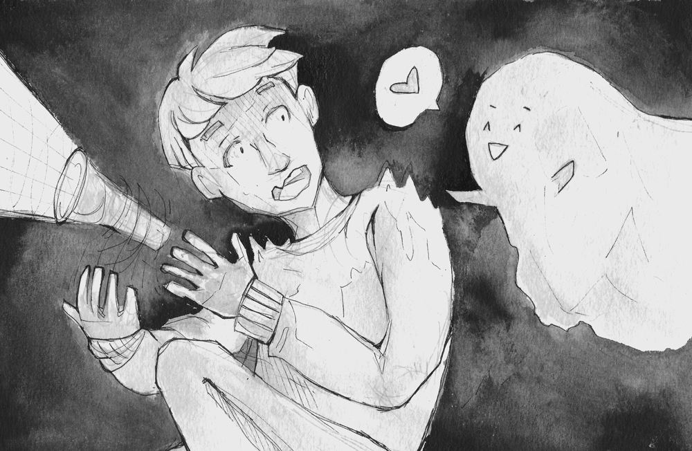 30. Boy and Ghost