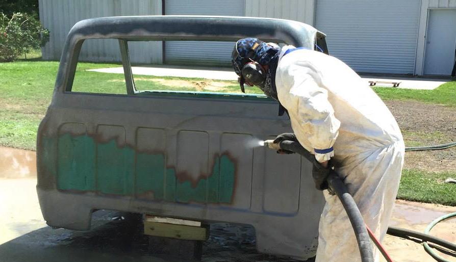 automotive - Sandblasting and Dustless Blasting - cars, trucks and motorcycles