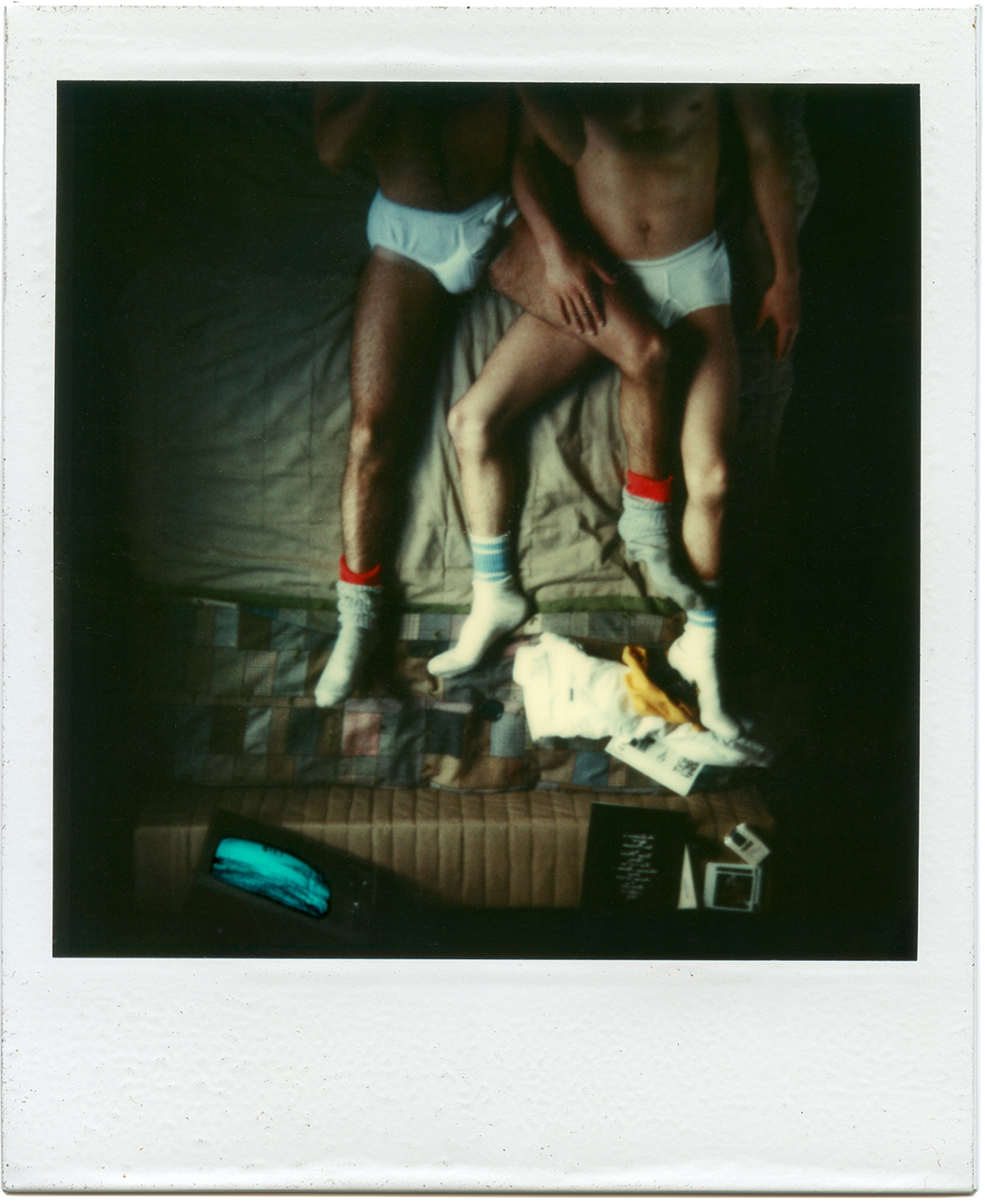 Untitled, 087 63 E 9th Street | NYC Polaroids 1975 - 1983 Unique SX-70 Polaroid, artist frame, Optium Museum Acrylic  4.2 x 3.5 in (10.7 x 8.9 cm) 10.75 x 9.25 x 1 in (27.3 x 23.5 x 2.5 cm) Framed