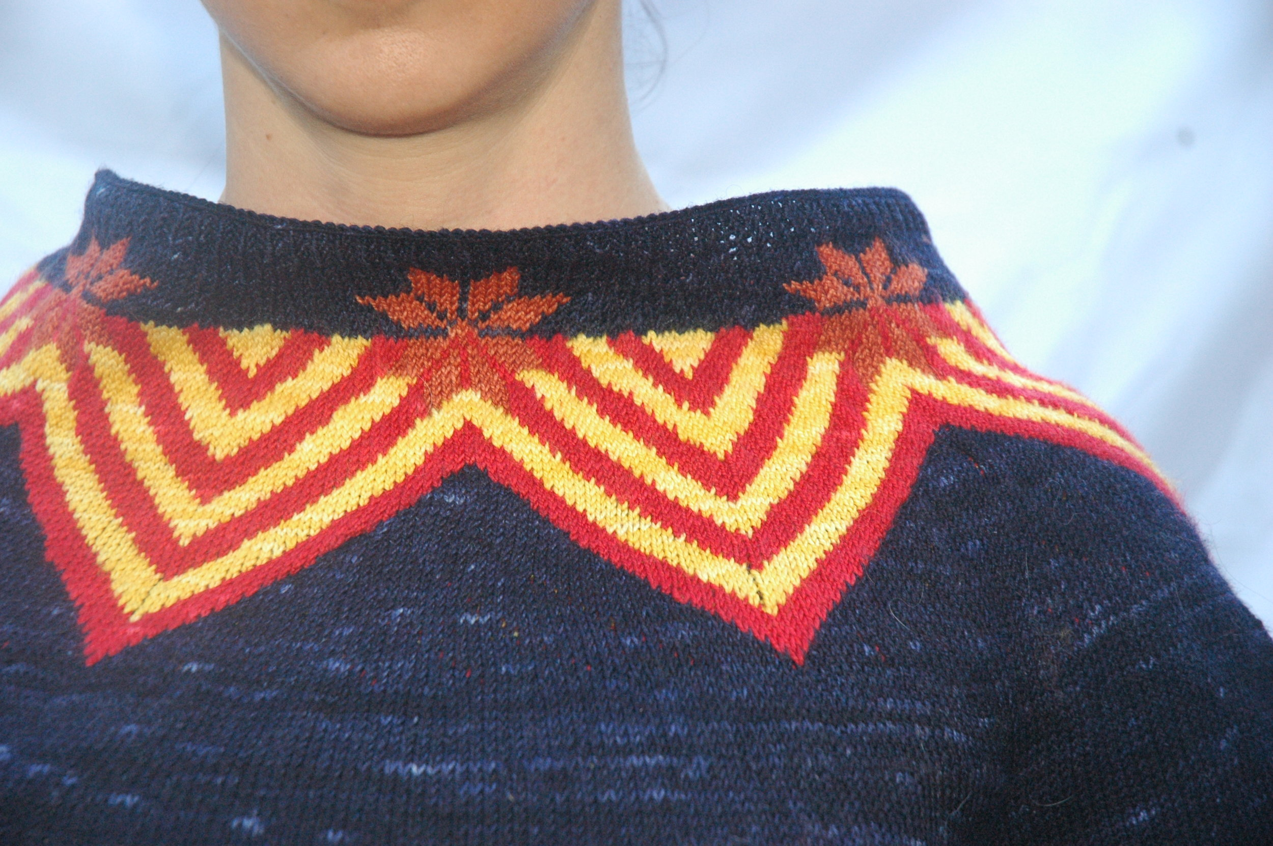 Inverted Flag Sweater