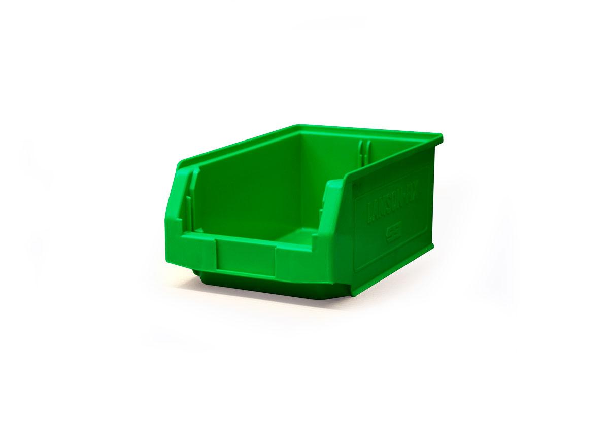 Size 3Z Green Plastic Bin