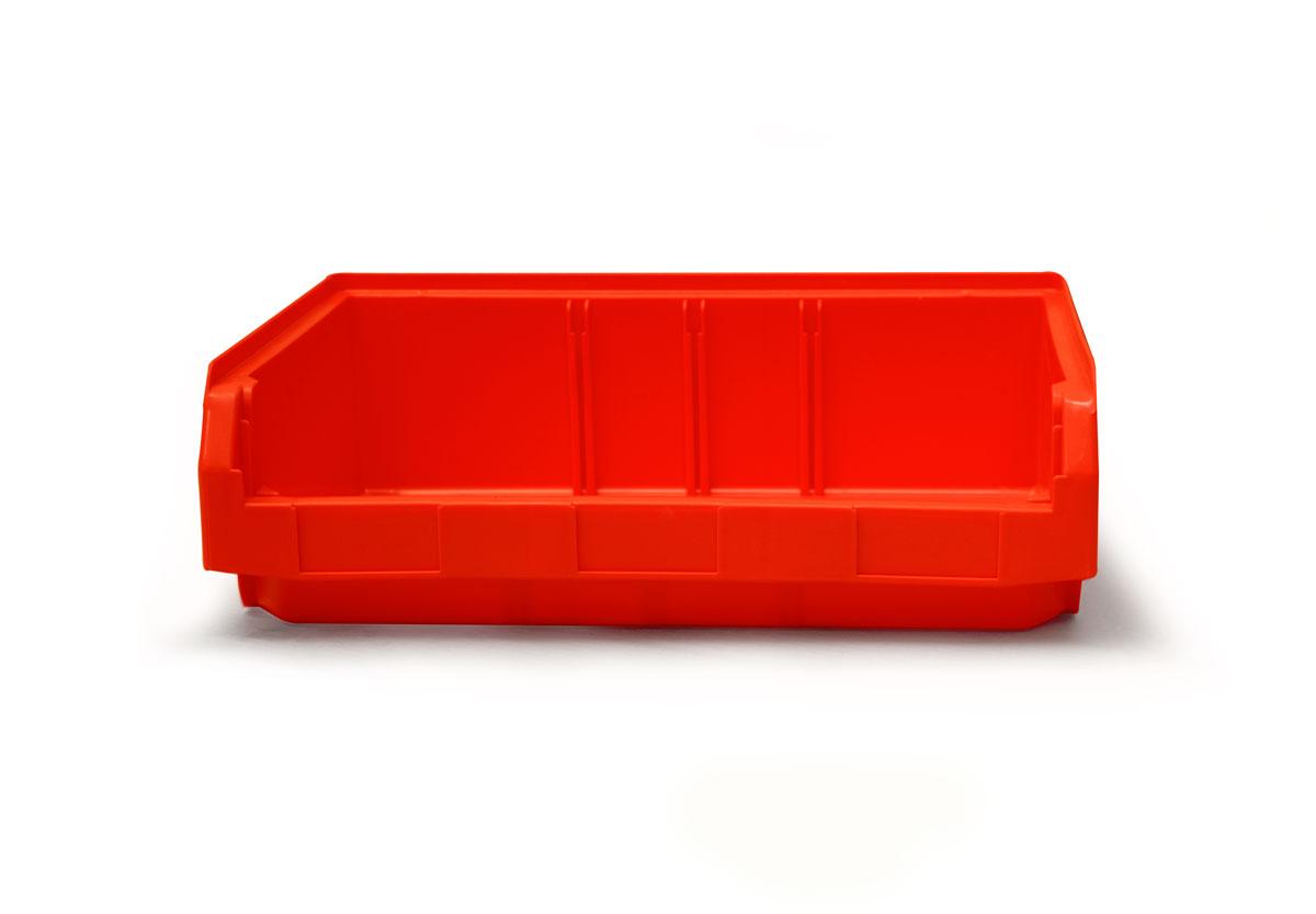 Copy of Size 3Z Red Plastic Bin