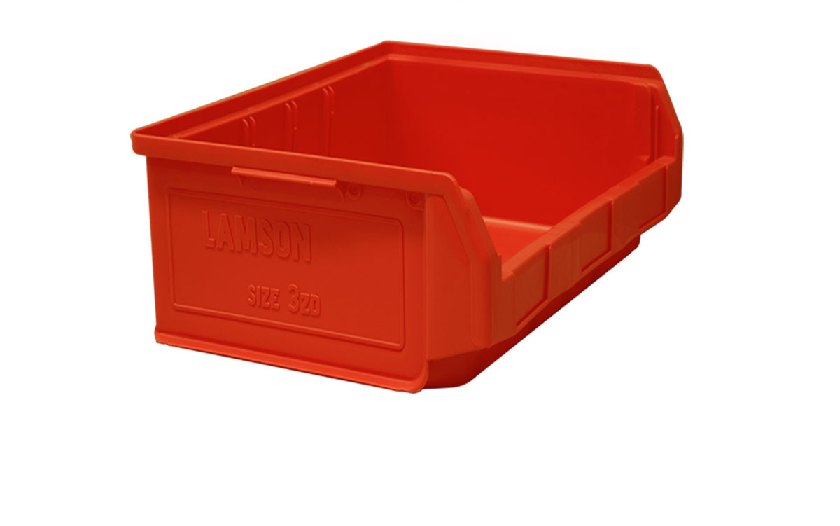 Plastic bins   -
