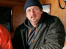 """Glen Libby, Founder of Port Clyde Fresh Catch, a Maine Fisherman's Cooperative, and author, with Antonia Small, of """"Caught,""""a John N. Cole award winning book. Photo by Herb Swanson"""