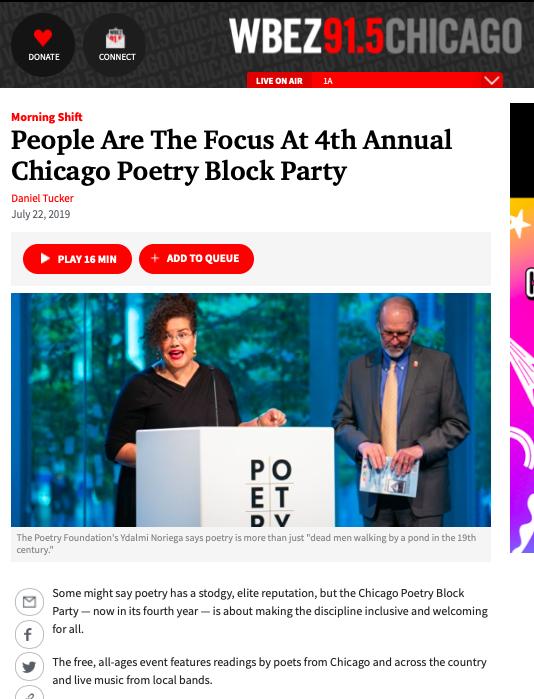 wbez-chicago-poetry-foundation-publicist-ximena-larkin-block-party-Daniel-tucker